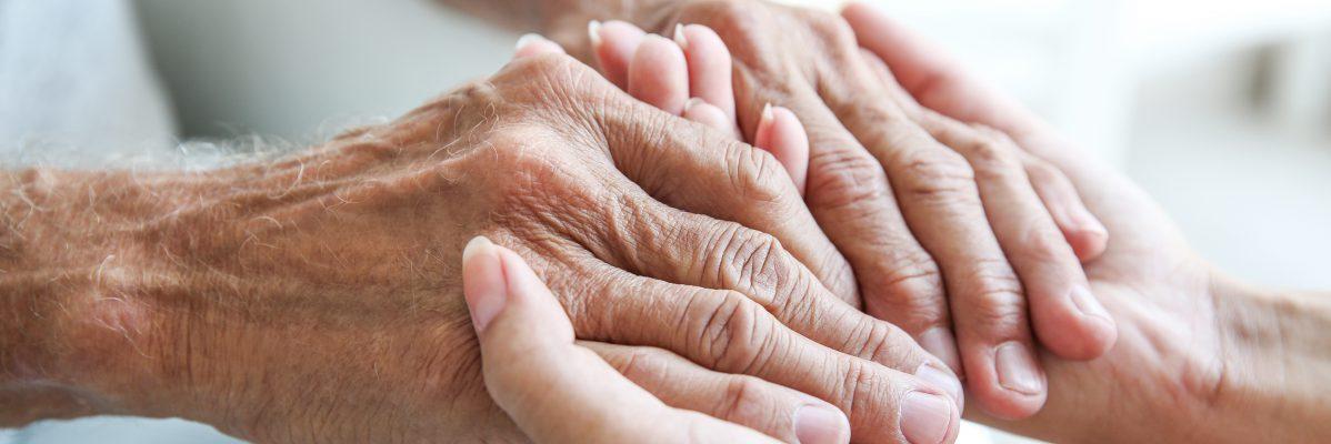 Helfende Hände vom Pflegedienst Schäälsick